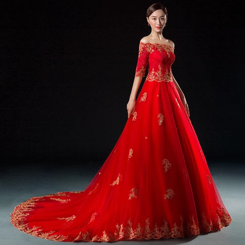 Traditional Chinese Bridal Gown – Christine Liu